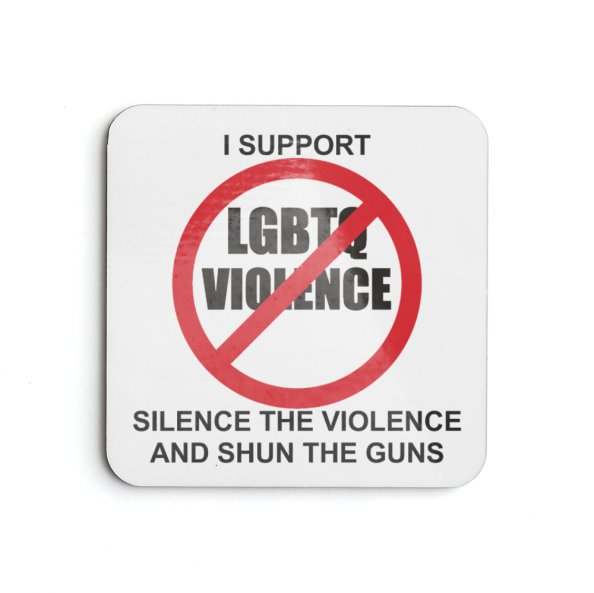 Anti-violence against LGBTQ coaster